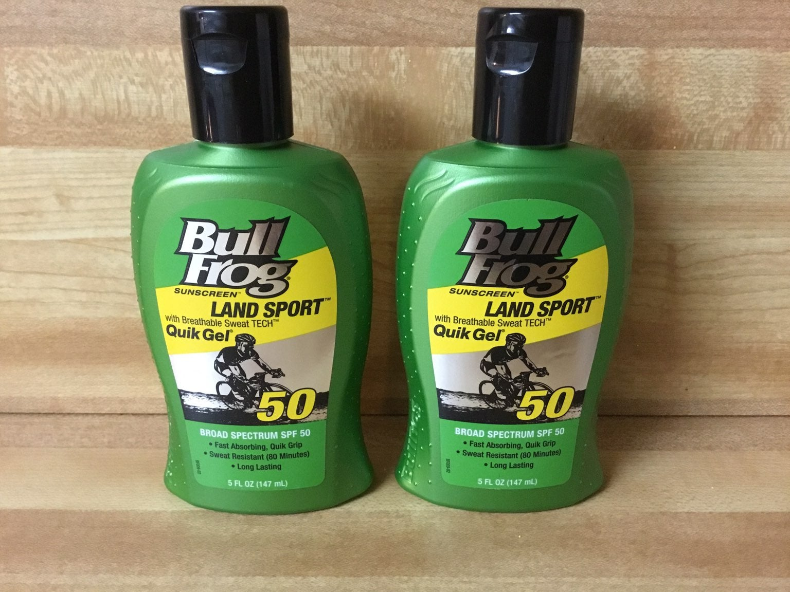 2 bull frog land sport sunscreen gel