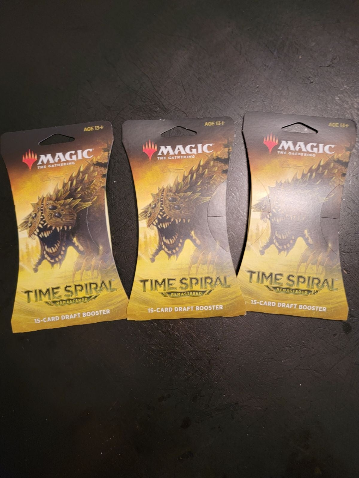 3x MTG Time Spiral Remastered Boosters