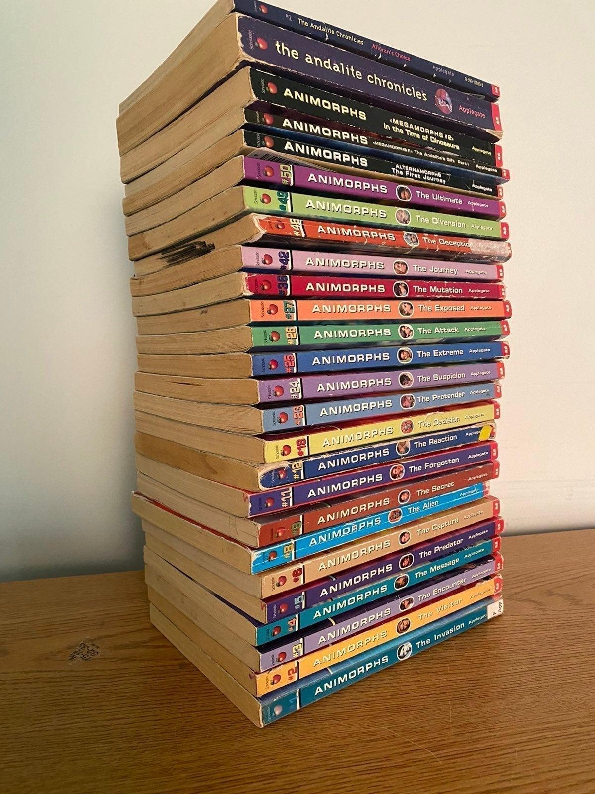 Lot of 26 Animorphs Books