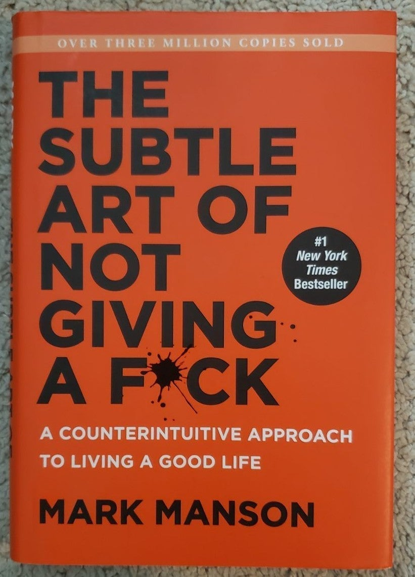 Subtle Art Of Not Giving