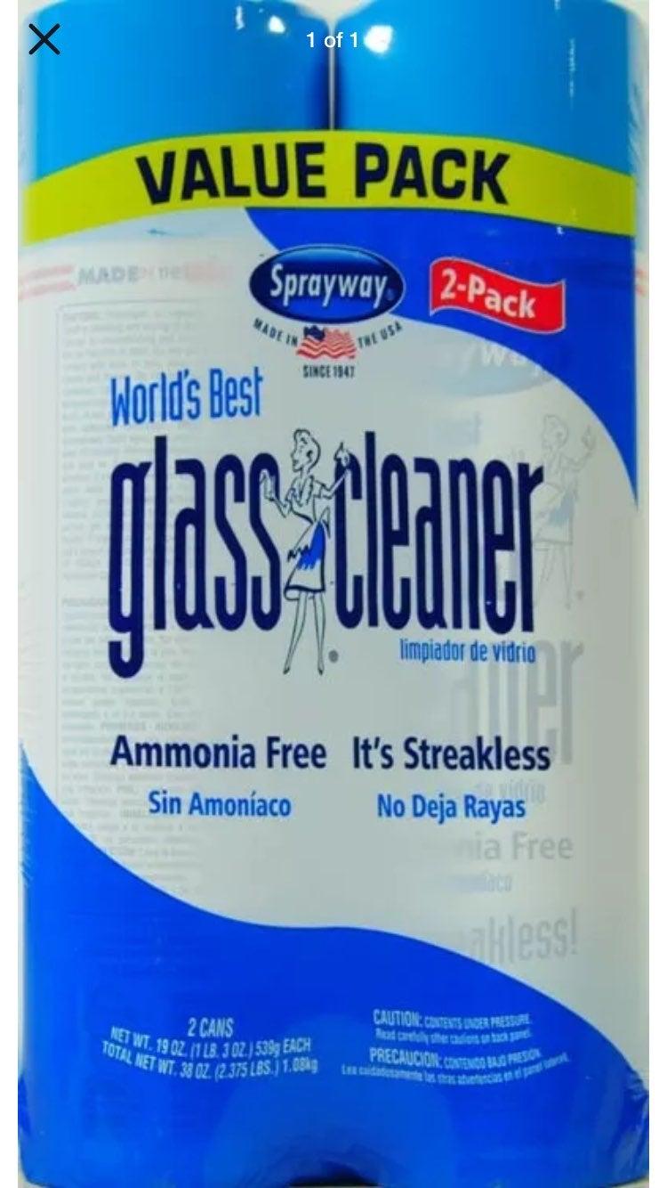 Sprayway World's Best Glass Cleaner, Val