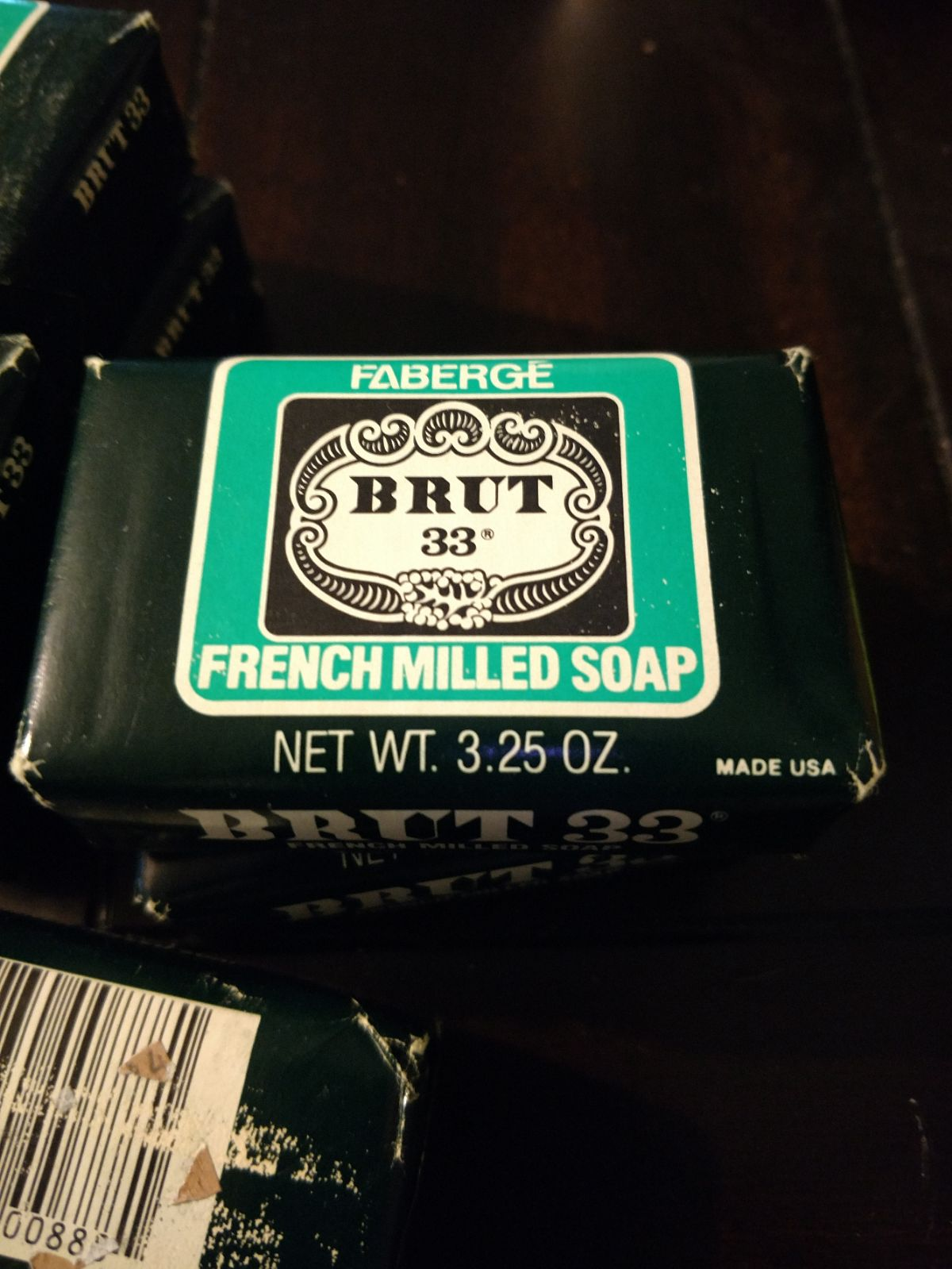 French Milled Soap Brut 33 By Fabrege