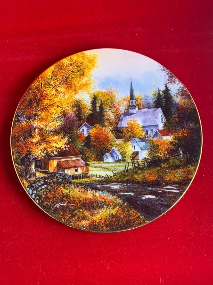 Kirk Randle Autumn grandeur Plate
