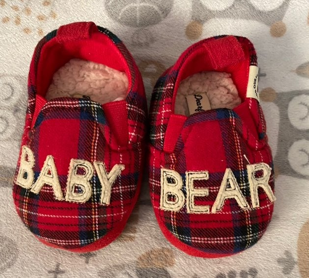 Baby Bear Slippers 9-12 Months
