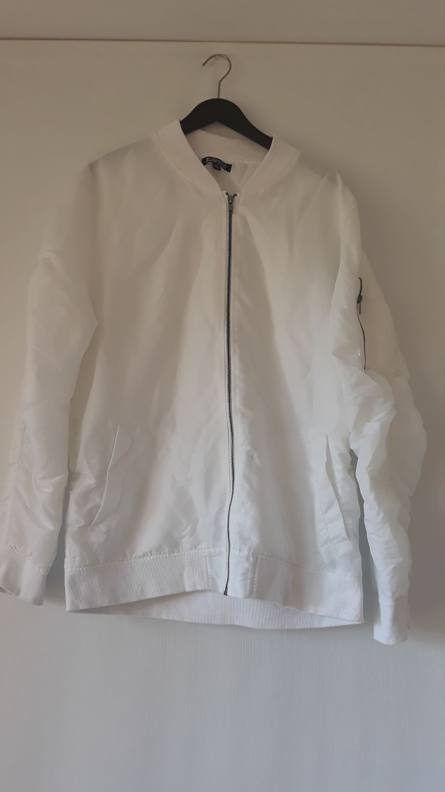 White Rue 21 Bomber Jacket
