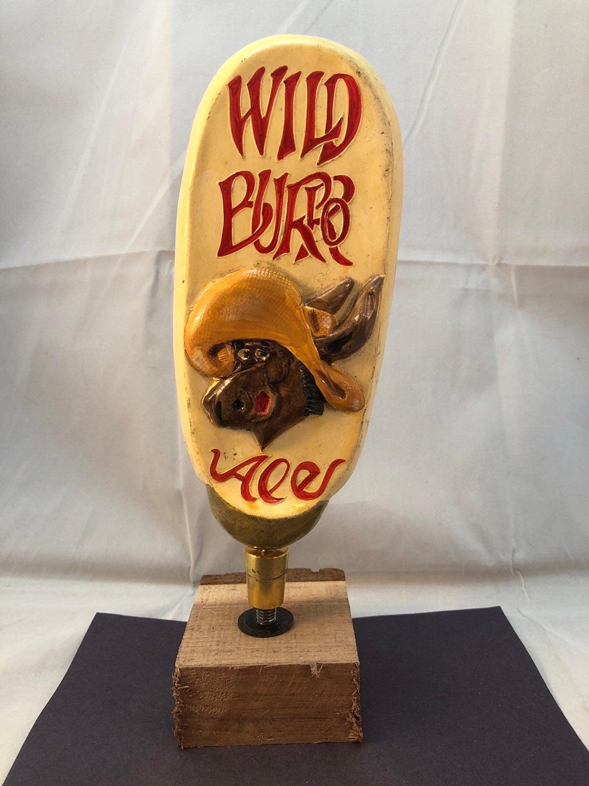 Wild Burro Beer Tap Handle