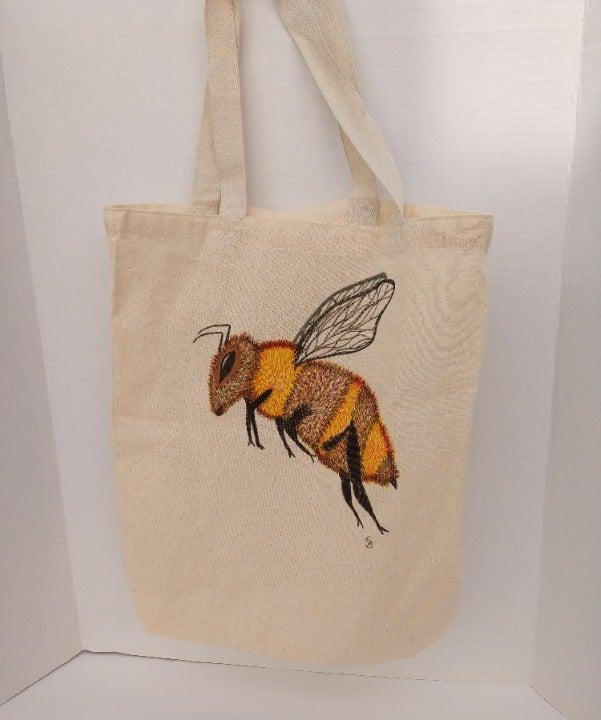 Bee Reusable Grocery Bag Honey Bee Tote
