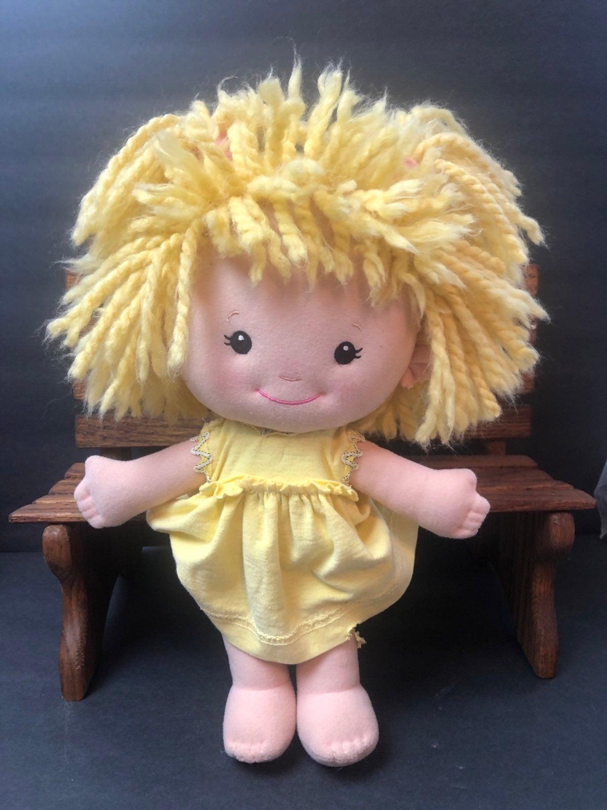 Vtg Dress Daisy playskool doll