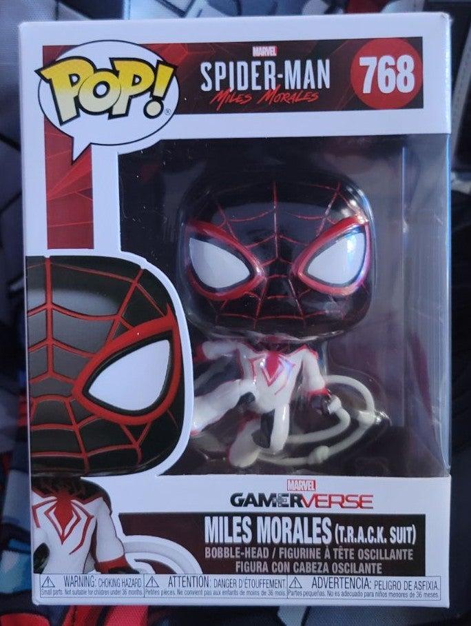 Funko Pop Miles Morales T.R.A.C.K. Suit