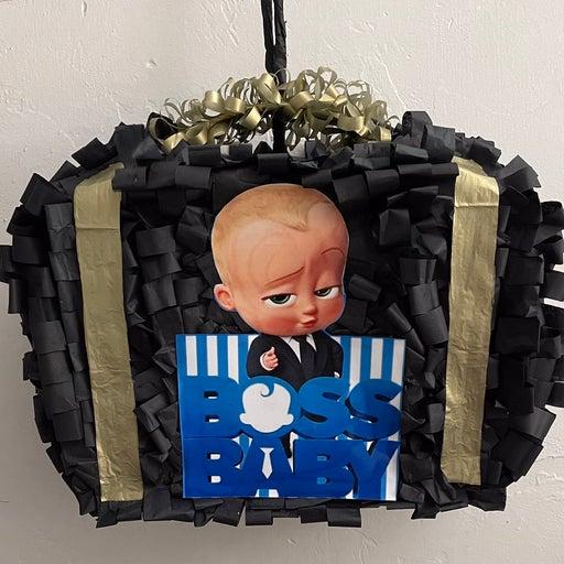 Boss Baby One Black Suitcase Pinata W