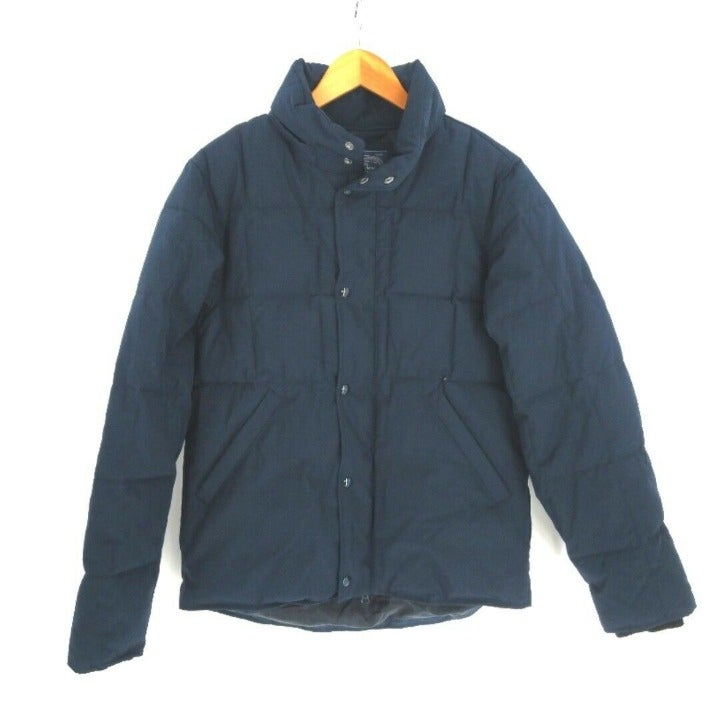 J Crew Nordic Quilted Jacket Mens S Blue