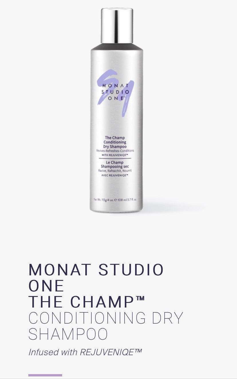 Monat the champ dry shampoo