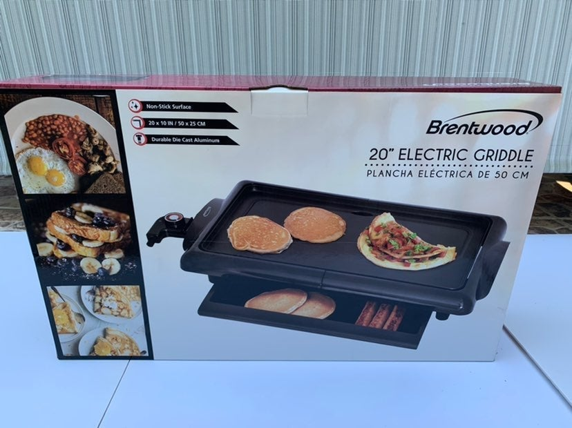 Brentwood 1400-Watt Non-Stick Electric G