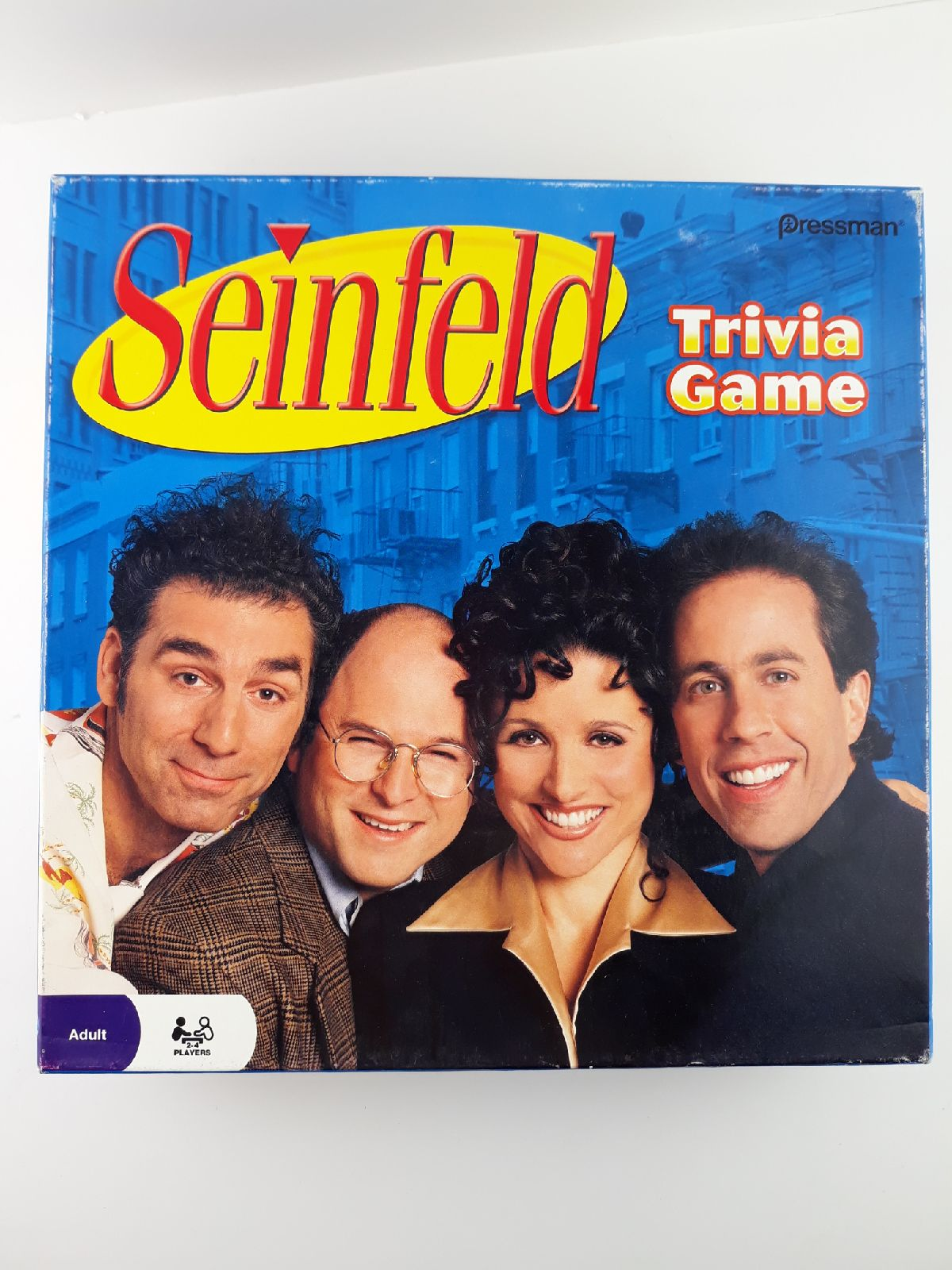 Seinfeld Trivia Game Unpunched