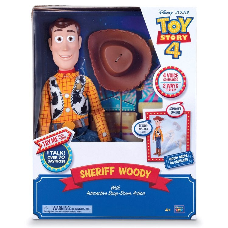 Toy Story 4 Sheriff Woody Interactive