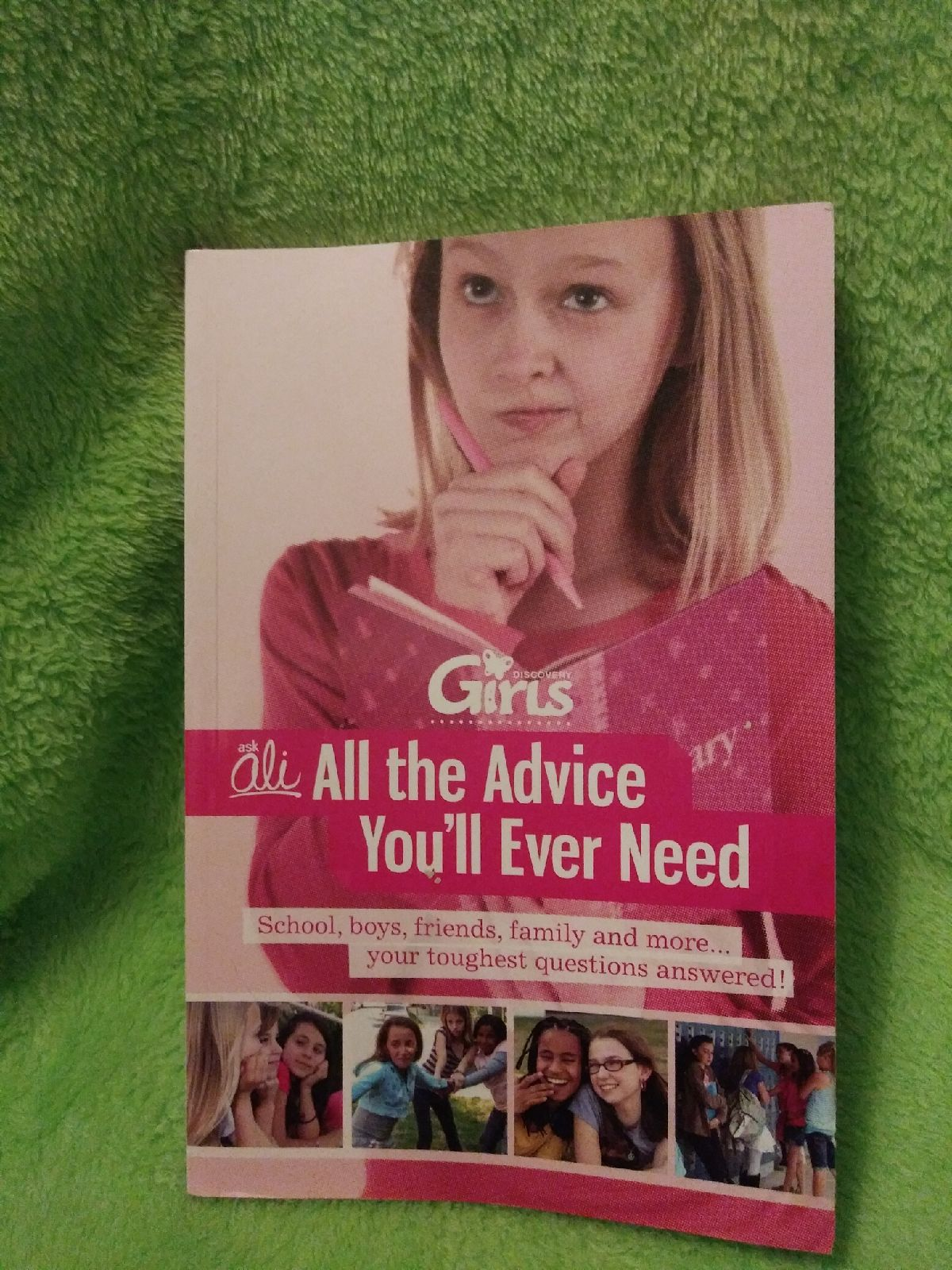 Discovery girls advice book