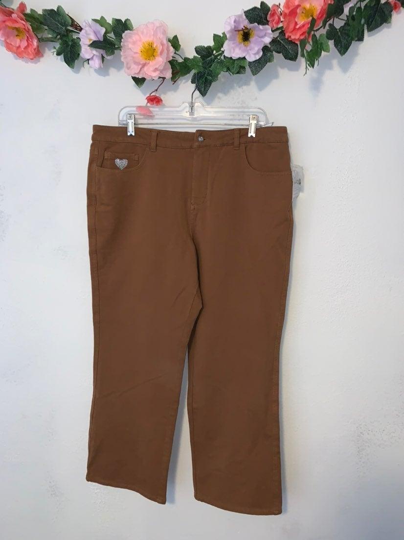 Dream jeannes strechy pants suze 16 nwt