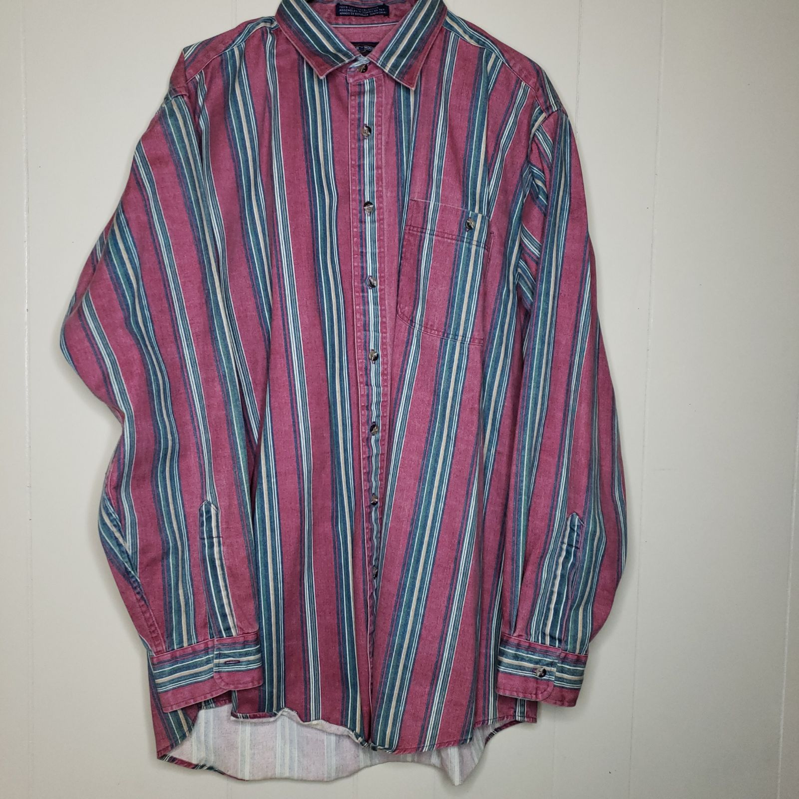 Vintage Members Only Oversized Shirt
