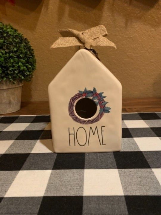 Wreath Birdhouse.!