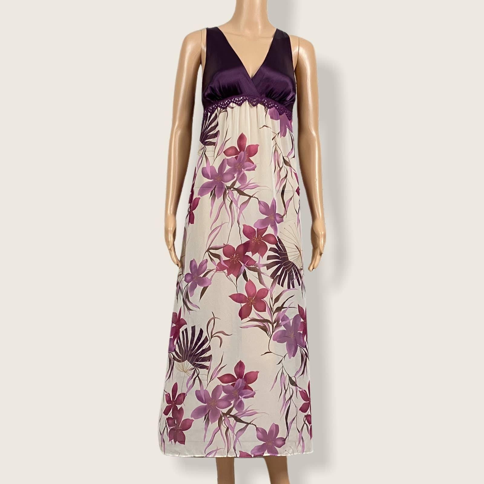 Gilligan & O'Malley Floral Nightgown