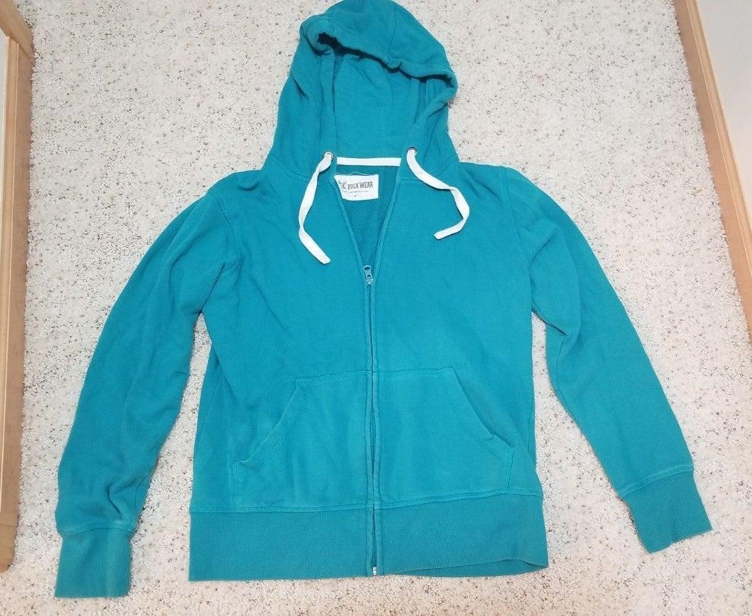 Buck Wear zip up hoodie