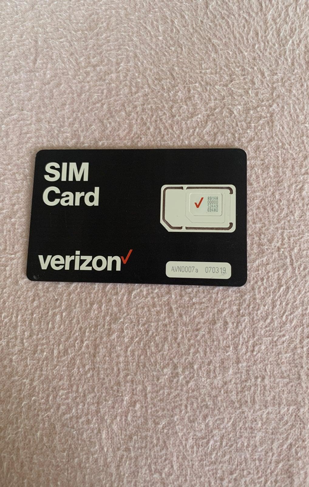 Verizon SIM