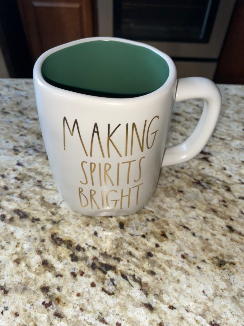 Rae Dunn Making Spirits Bright Mug