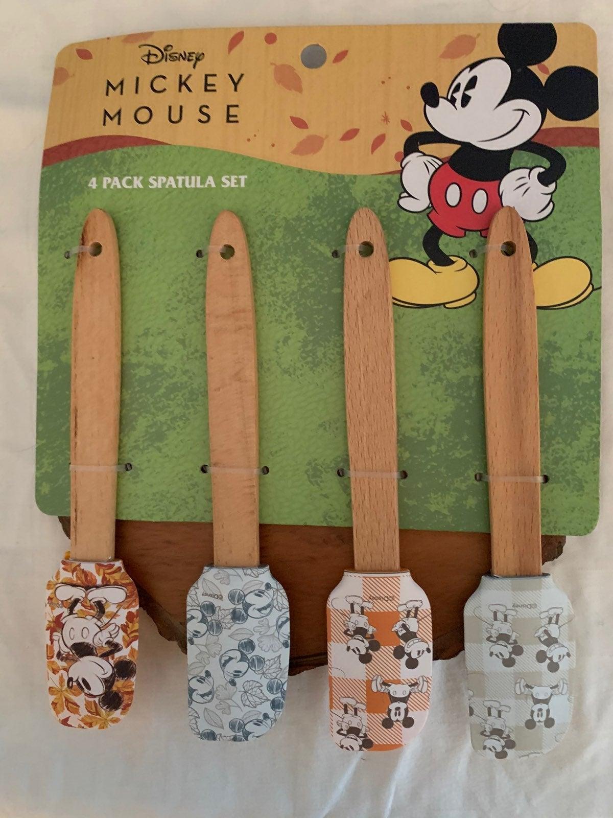 Disney Fall Mini Silicone Spatulas