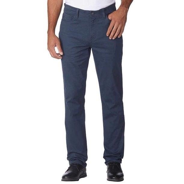 English Laundry Blue Textured Pants