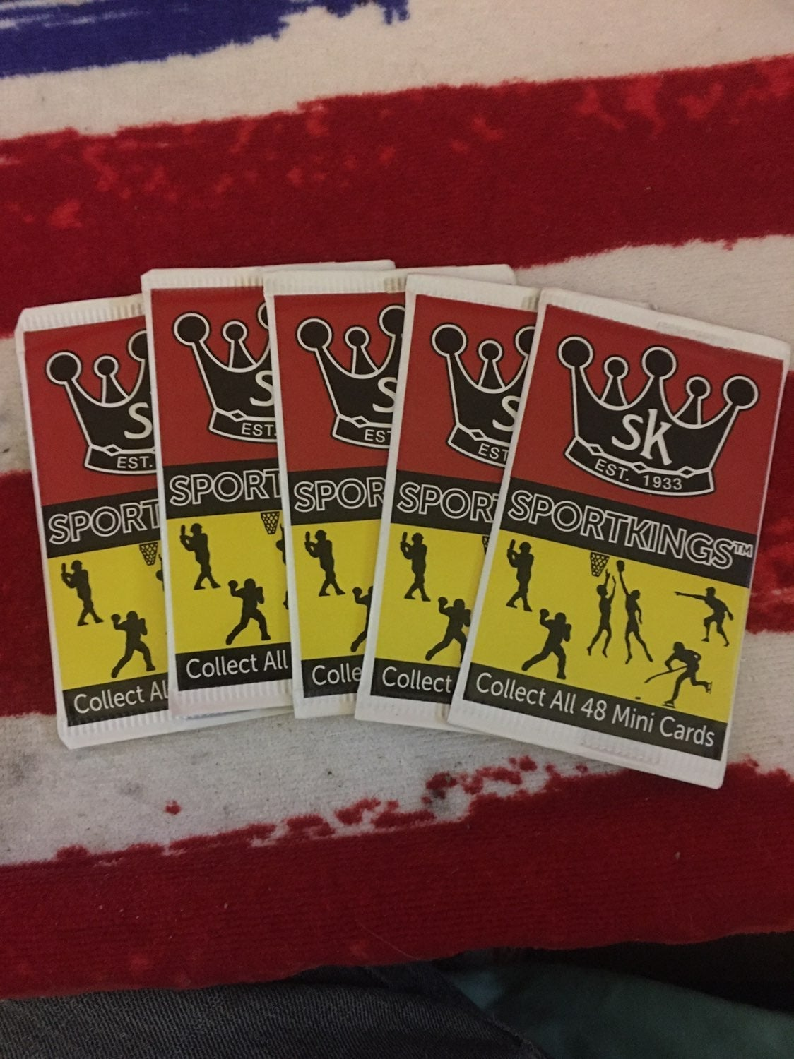 Sports Kings 2018 trading cards ! 10 pac