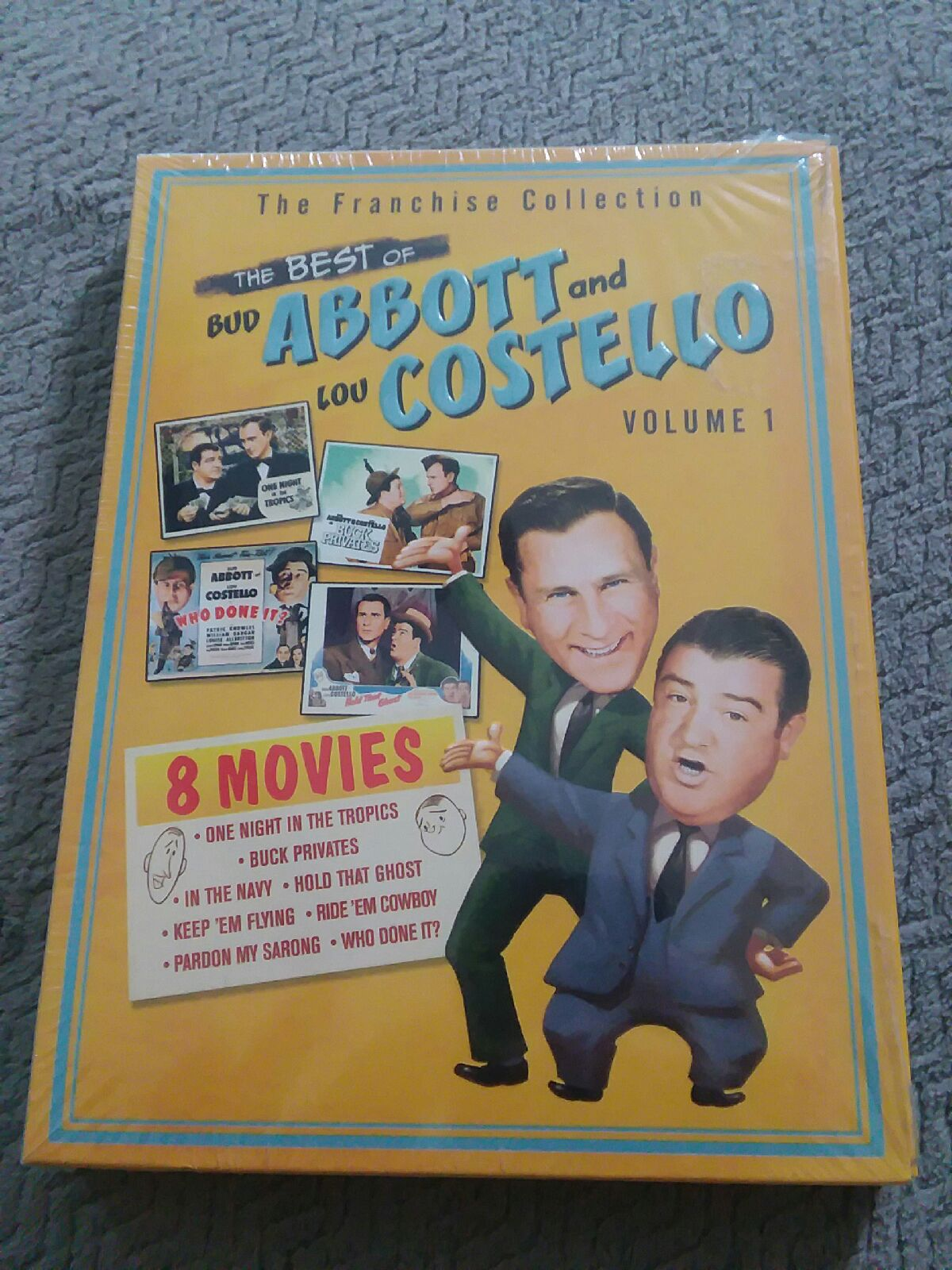The Best of Abbott & Costello Vol. 1 DVD