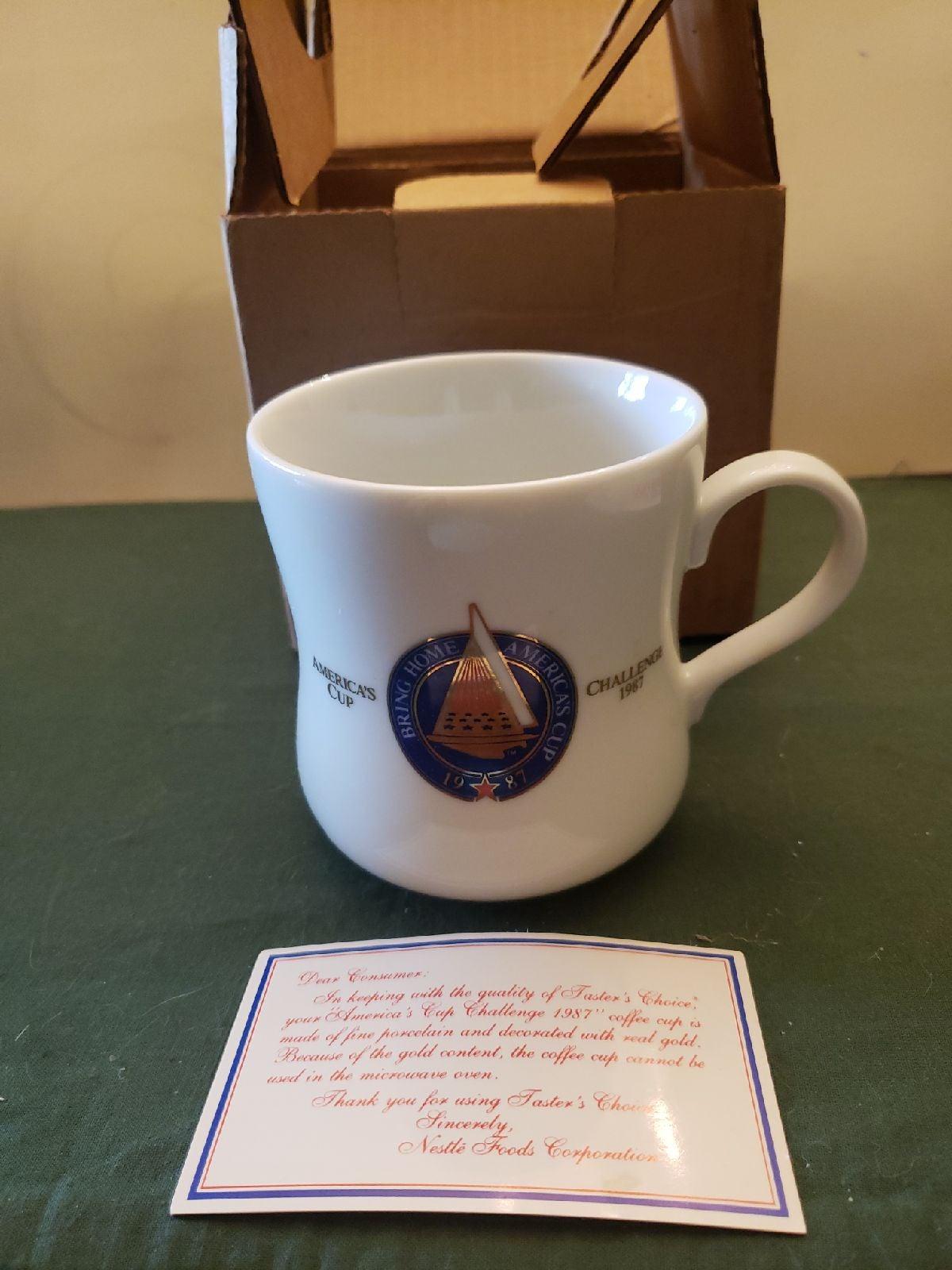 Mug 1987 America's Cup Collector's mug