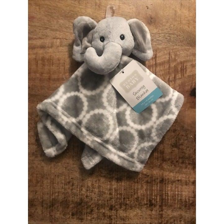 Hudson Baby Security Blanket Elephant