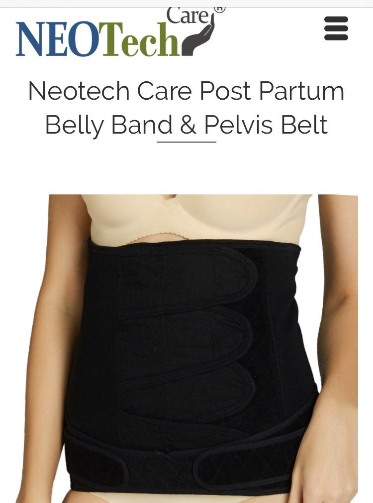 NeoTech Postpartum Belly Band and Pelvis