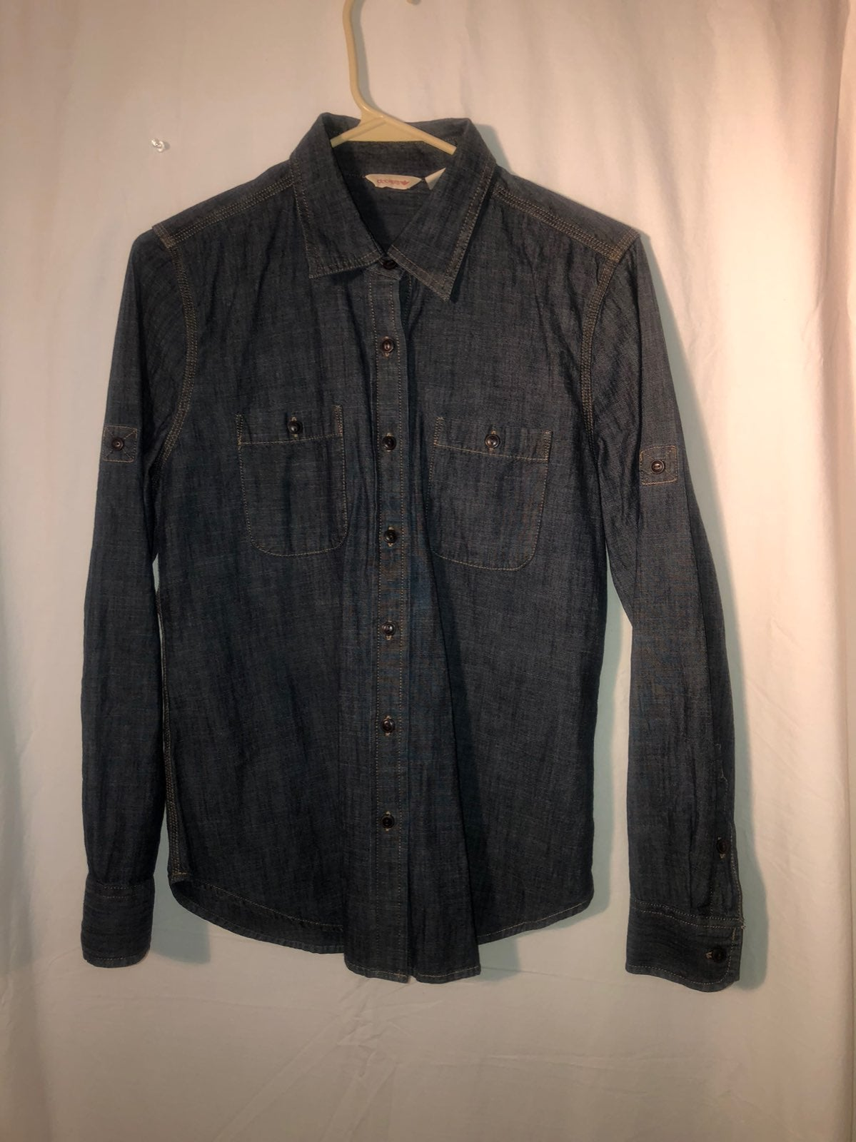 Dockers denim button up size small