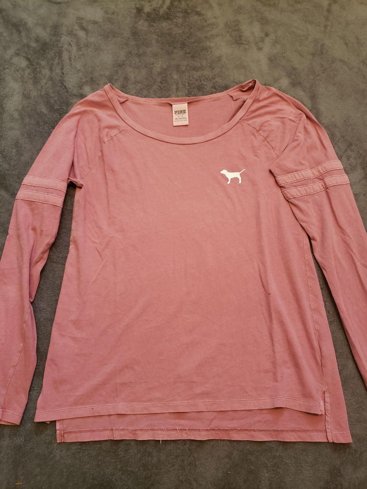 Pink longsleeve top