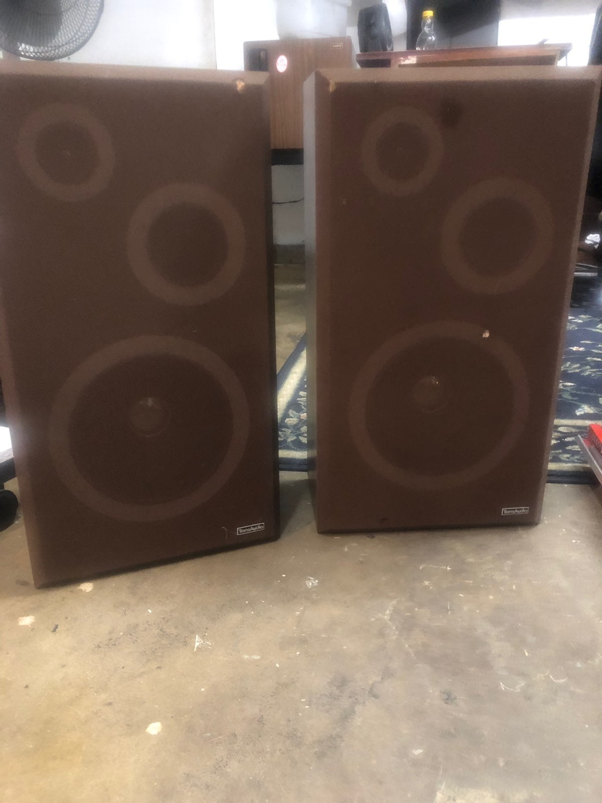 Vintage - Transaudio home floor speakers
