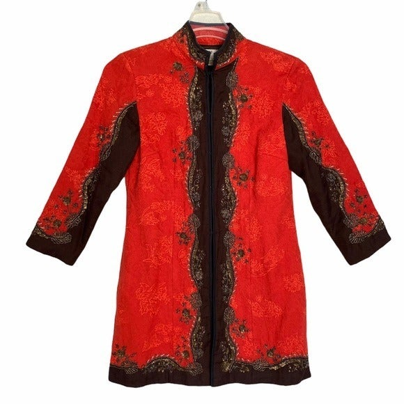 Chico's Chinese Asian Style Blazer