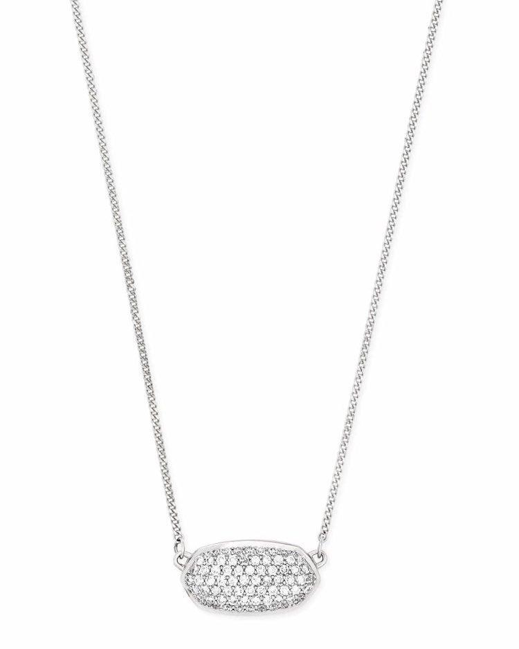 Kendra Scott Elisa Silver Necklace