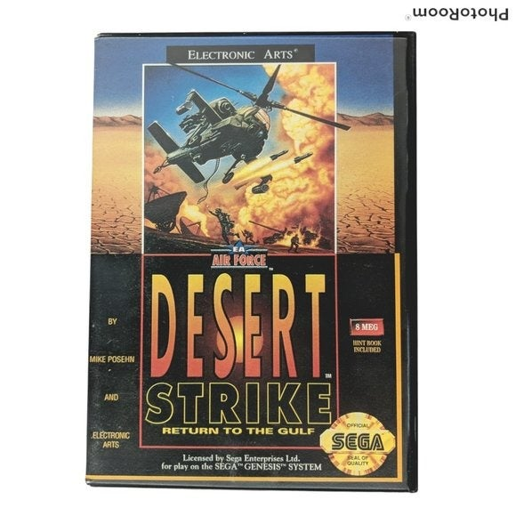 Desert Strike: Return To The Gulf Sega