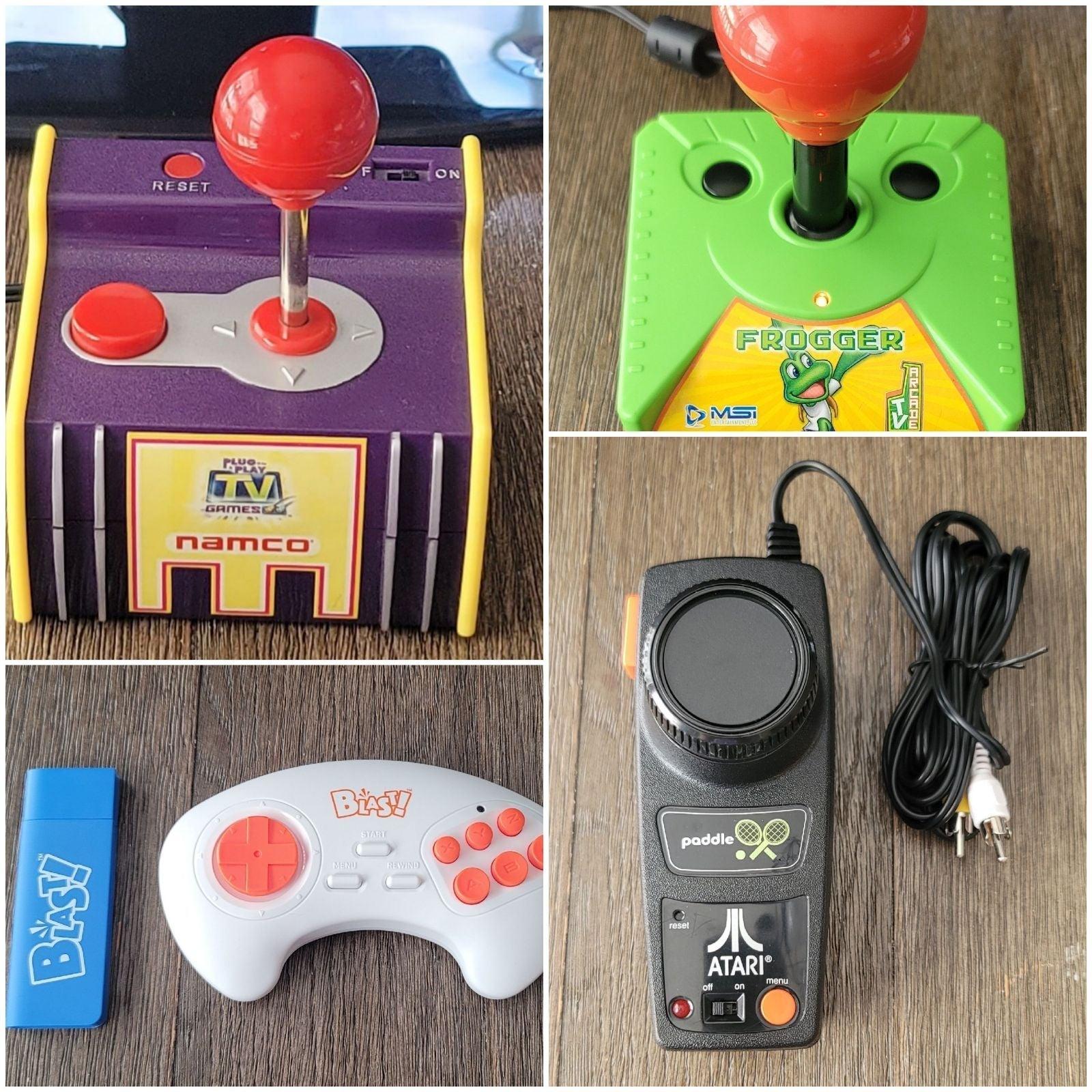 Pac-Man/Frogger/Atari Flashback 2/Legend