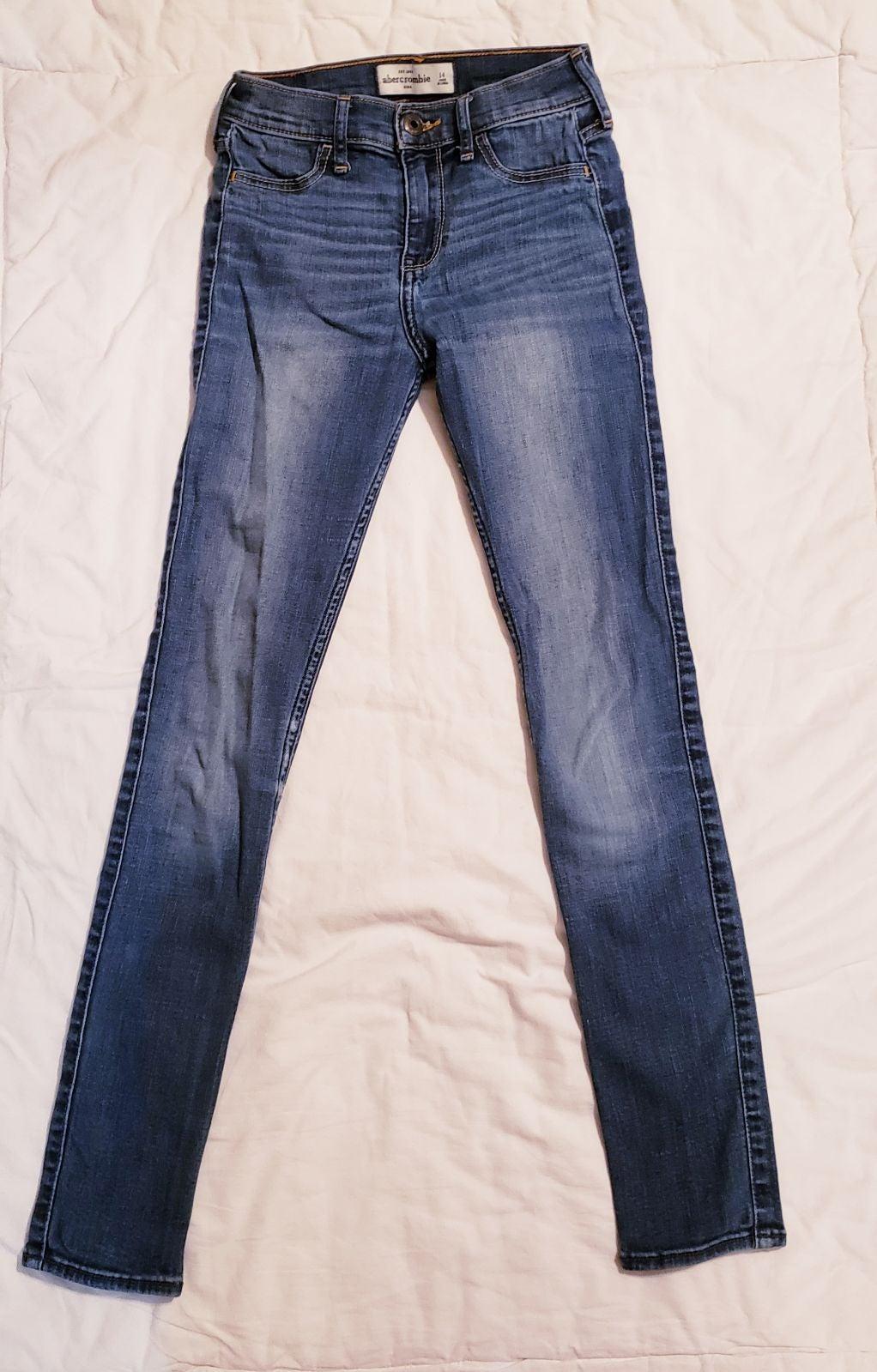 11Abercrombie girls skinny Jeans