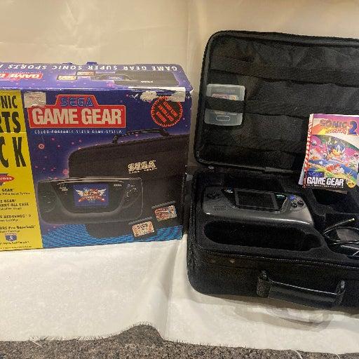 Sega Game Gear Sports Pack CIB Box