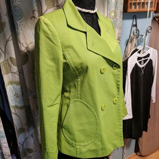 Talbots M Peacoat style rain coat