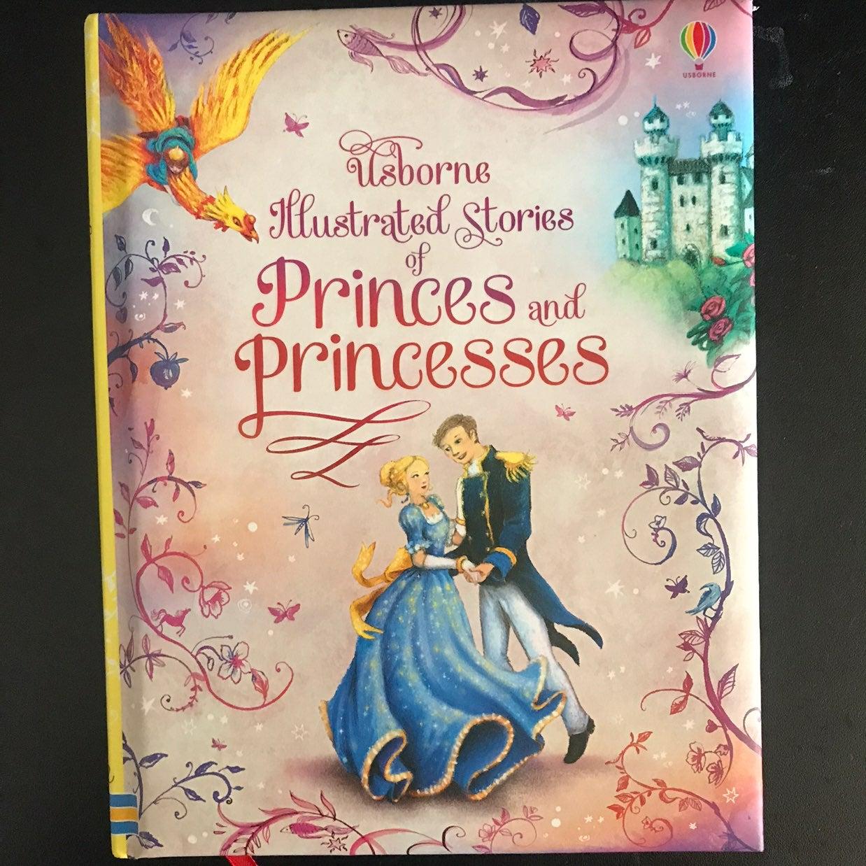 Usborne Princes & Princesses Book