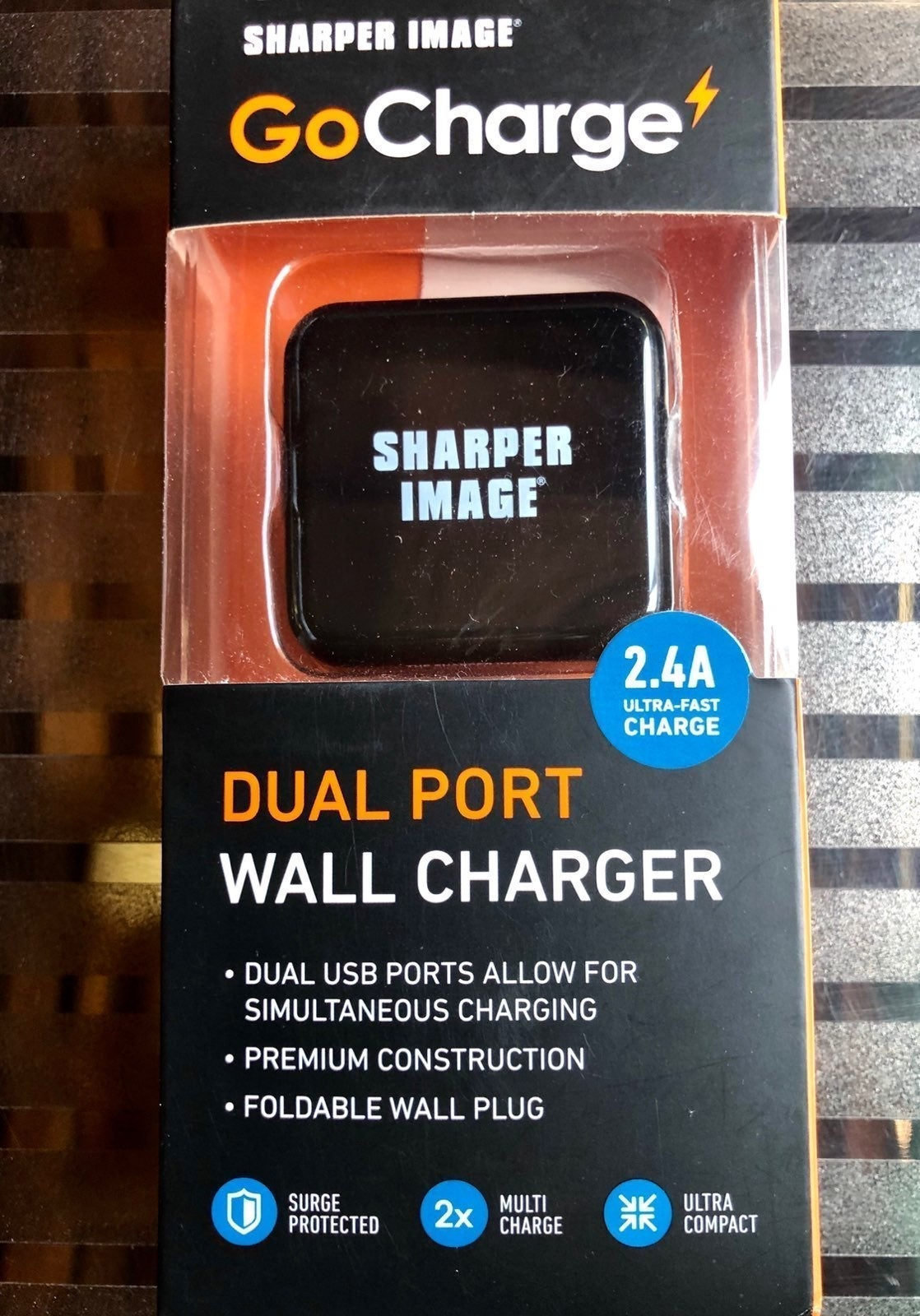 GoCharge Dual Port Wall Charger
