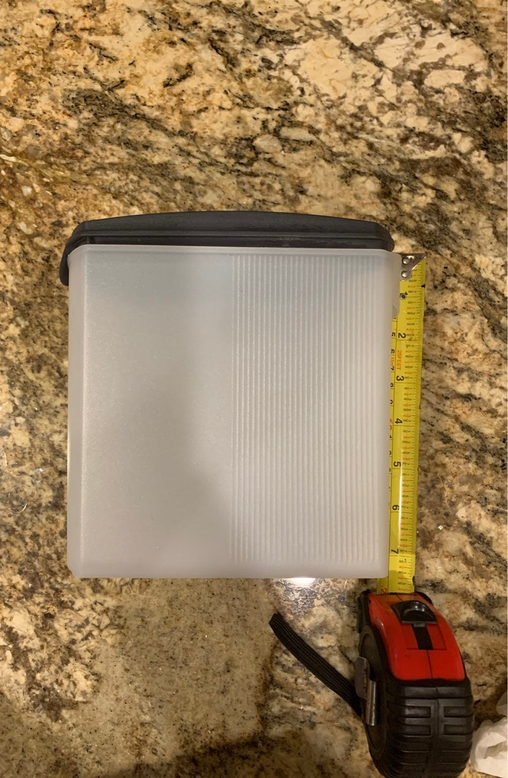 Tupperware Modular Mates Grey 1.6 L
