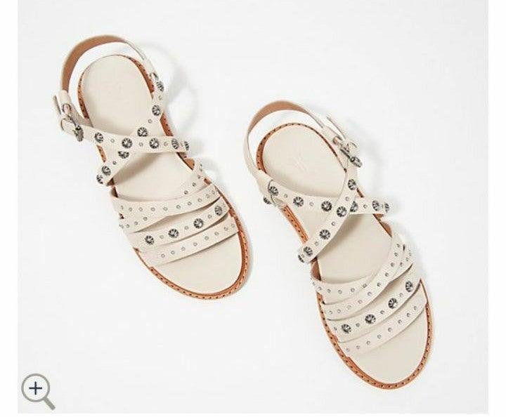 Frye Embellished Leather Sandals