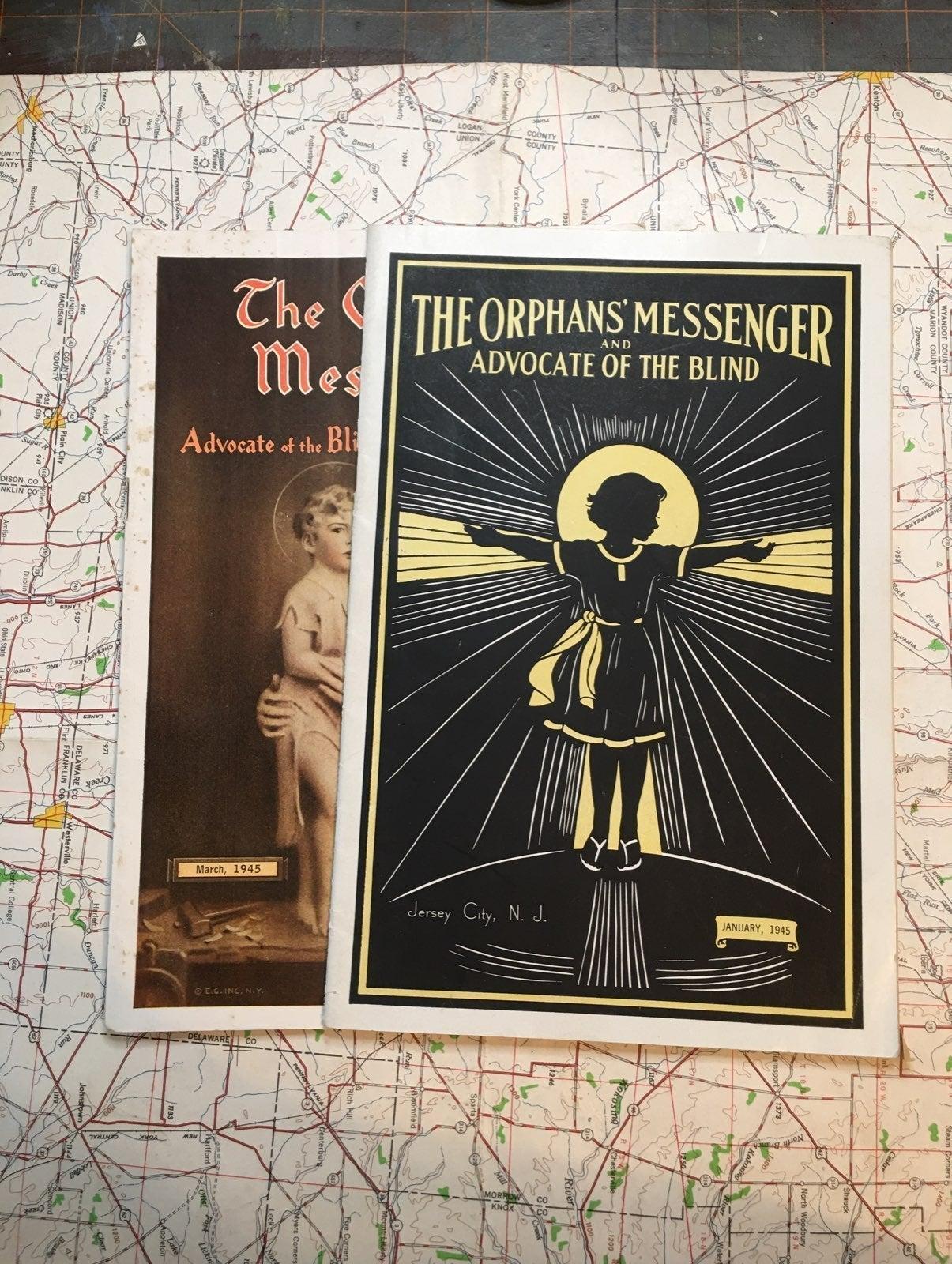 2 1945 The Orphans' Messenger Magazine