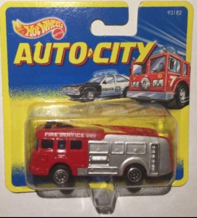 Auto city hot wheels Corgi Fire Service